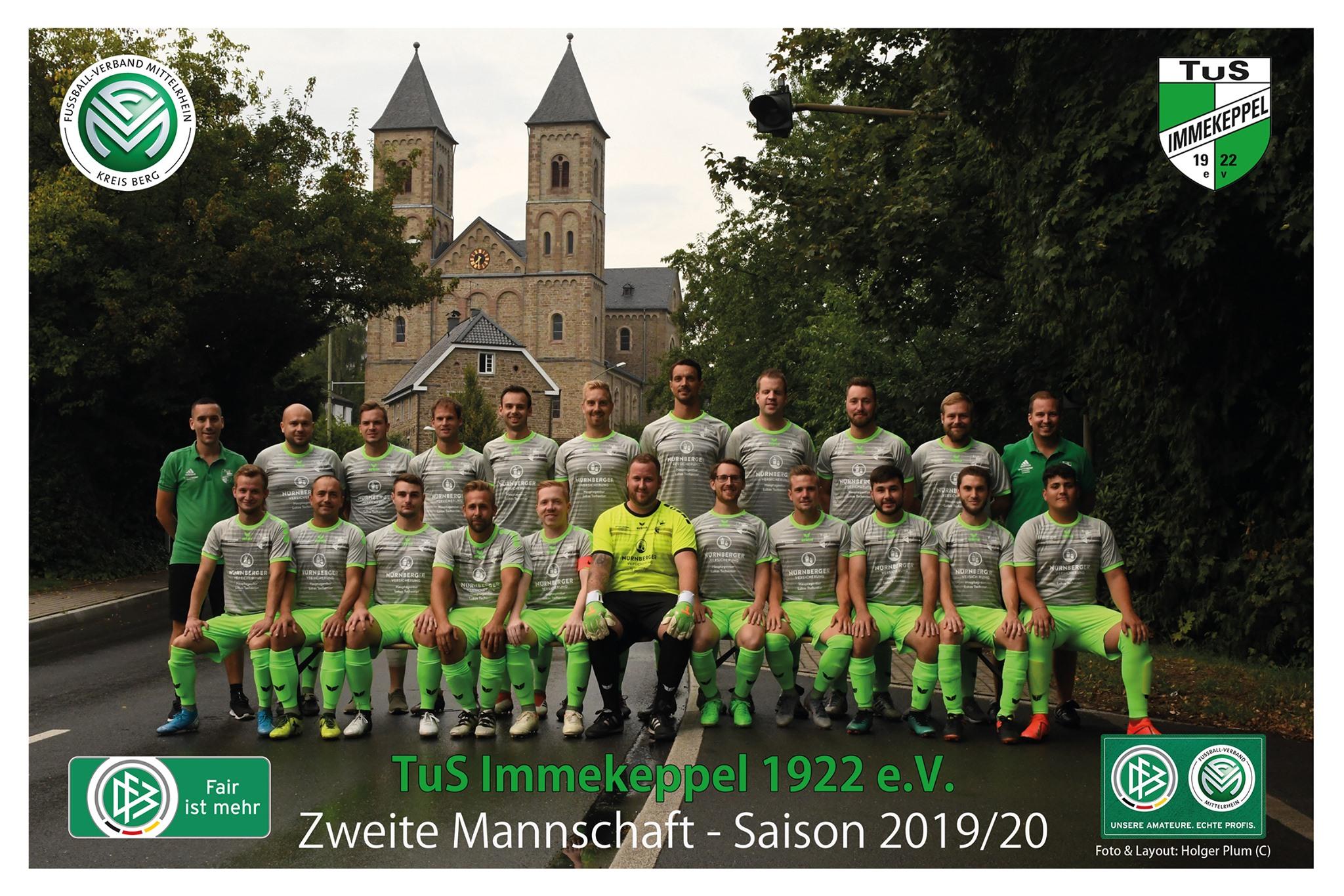 Zweite Mannschaft Saison 2019/20