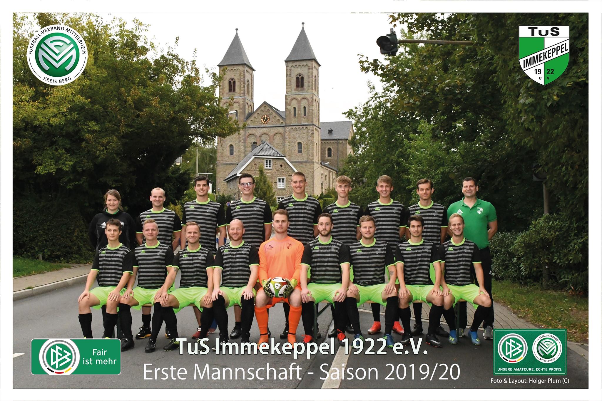Erste Mannschaft Saison 2019/20